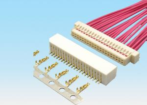 China JST 1.0 Double Row Thin Pcb Wire To Board Connector 1.0mm Pitch 2 - 25 Pin on sale