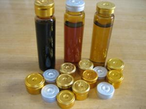 China amber oral liquid vials with good price on sale