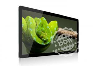 China Wall Mount Transparent LCD Display Touch Screen Monitor 1920x1080 For Shopping Plaza on sale