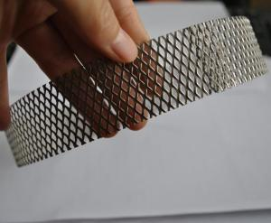 Quality 304 Stainless Steel Wire Expanded Mesh Circle As Filter , Metal Mesh Type for sale