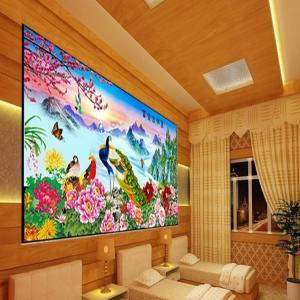 China PLASTIC LENTICULAR 3d lenticular pictures motion 3d wallpaper large format 3d decor painting flip 3d lenticular prints on sale