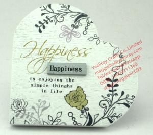 China mother help us to spread our wings and fly 2x3 MDF wooden photo frame on sale