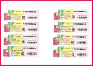 China OEM Sticker 32bit 64 Bit Windows 10 Pro COA Sticker Spanish Language Activation Online on sale