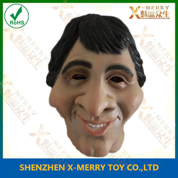 x-merry new celebrity mask funny adult halloween costume messi