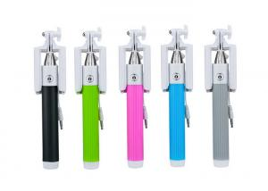 China Foldable Wired Selfie Stick Monopod Cable Take Pole CE / ROHS on sale