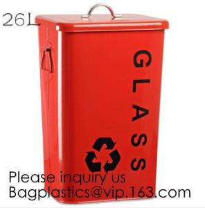 China Kitchen/Home/Household/Outdoor/Recycling,Copper Garbage Can Tin Garbage Bin,Pedal Tin Waste Bin,galvanized metal Tin gar on sale