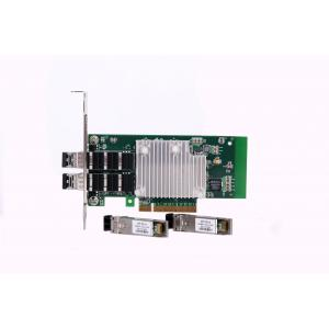 China PCI Expressx8 10 Gigabit Server Adapter Dual SFP+ Network Adapter NIC Card on sale