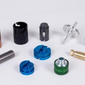 China Small Custom Machined Aluminum Parts , CNC Aluminum Parts Baking Painting on sale