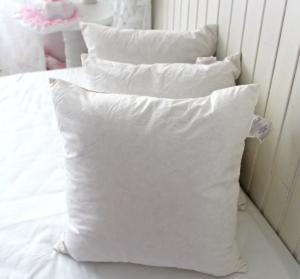 Quality Cotton Whole Washable Duck Feather Cushion Inserts For Decorative Sofa Cushions
