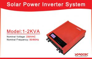 China 1000VA / 720W Solar Power Inverters Supply reliable Long Bace up Time Power on sale