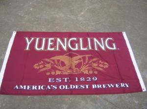 China Marketing Promotional Flags Advertising Banner Flags Angled Straight B1 Fire Proof on sale