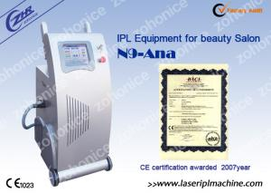 China Professional 8.4 Beard IPL Permanent Hair Removal Machines For Beauty Salon on sale