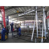 OEM ODM Cold Pressed Mobile Tower Scaffold / Mobile Aluminium Scaffolding Tower