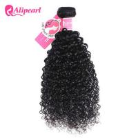 8A Peruvian Curly Hair Weave 3 Bundles , Peruvian Human Hair Extensions