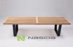 China Chaises de jardin extérieures en bois solide/banc en bois de plate-forme du Nelson de cendre le parc et la cour on sale