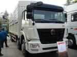 Camión pesado del cargo de SINOTRUK HOHAN 8X4 en el blanco, capacidad de carga de 50 toneladas
