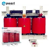 China Dry Type Two Winding Power Transformer Self Extinguishing 35kV - 100 KVA on sale