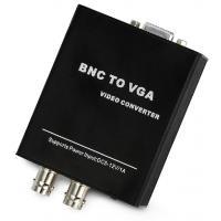 Bnc to vga converter Support DC5-12V wide voltage aluminum case