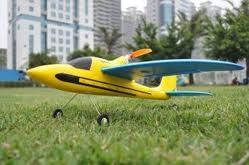 China Mini 4ch Sport Plane Dolphin Glider 2.4Ghz Radio Controlled RC Airplanes For Beginner supplier