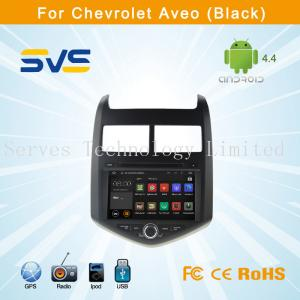China Reproductor de DVD del coche de Android 4,4 con GPS para CHEVROLET AVEO 2011 con usb TV de la radio del bluetooth on sale