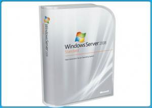 China 100% Genuine Microsoft Windows Server 2008 R2 Standard Retail Pack For 5 Clients on sale