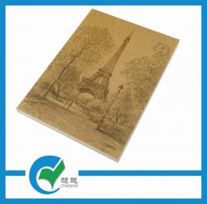 China Kraft Paper Perfect Binding Personalised Printed Notebooks for Students on sale