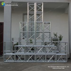 China 2018 New high quality aluminum lighting global box truss from syxtent truss system on sale