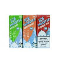 China Good  Products  Ice Jam Monster  100ml Fruit Flavors on sale