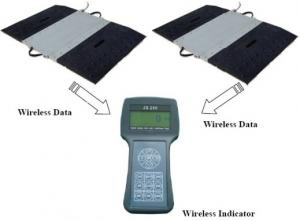 China Easy Operate Portable Vehicle Scales , Static / Dynamic Wireless Truck Scales on sale