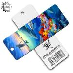 Plentiful Designs Deep 3D Lenticular Bookmark / Personalized Picture Bookmarks