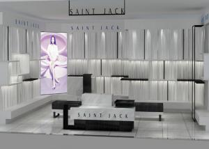 China High End Bag / Shoe Shop Display Stands Modern Retail Fixtures For Interior Decoration on sale