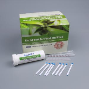 China Sulfonamides Rapid Test Kit for Milk on sale
