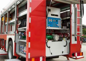 China Scientific Lighting System Airport Rescue Truck , Electric Warning Siren Aircraft Fire Truck on sale