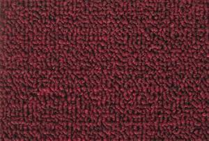 China Colorfast Red Brown Soft Cut Pile Carpet For Meeting Room , Dinning Hall on sale