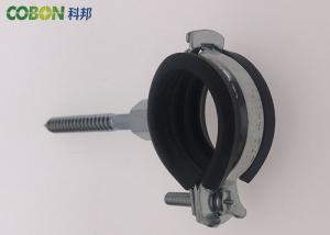 White / Blue Plastic Pipe Clamps , 3 / 4 Customized Metal Pipe Clamp