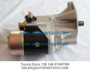 China Brand New Toyota Starter Motor For Toyota Dyna 13B 14B 12V on sale