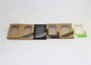 China Elegant Printed Electronics Packaging Boxes / Eco Friendly Phone Packaging Box on sale