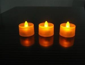 China Yellow Flameless Led Flashing candle ( flicker ) LL-1002, PP Material Flashing Cup  on sale
