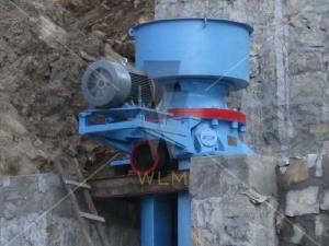 China Mining Hydraulic Cone Crusher 90kw with Single cylinder for crushing iron ore copper ore on sale