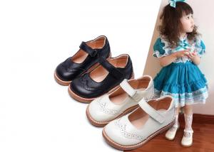 China Stylish Kids Shoes Size 23-30 Dress Shoes for Summer Party Wedding School Flats on sale