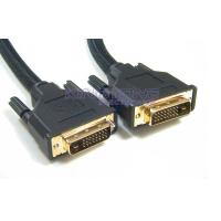 Digital Single DVI Cable 7×0.127mm Silver Plated Copper or Tin Plated Copper 28AWG