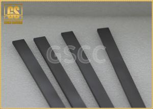 China Solid Wood Working Carbide Wear Strips / High Toughness Carbide Square Bar on sale