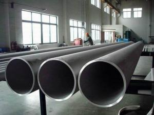 China 304L / 316L Stainless Steel Seamless Pipe For Fluid , Solid Annealed / Pickling on sale