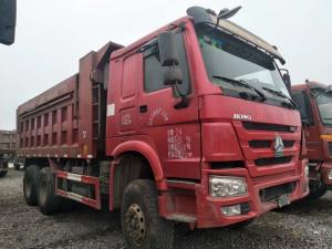 China 25 Tons Used Commercial Trucks , 6X4 371HP / 375HP Used Heavy Duty Dump Trucks on sale