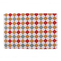 40 * 35cm Dining Room Table Placemats Christmas Pattern Printed Square Shape