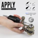 Precision Control Adjustable Needle Stroke 1 - 5mm Stonger Power  Electric  New Tattoo Machine Guns