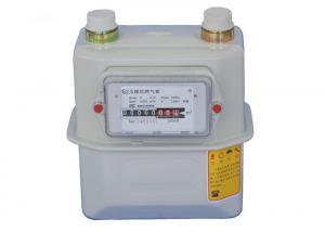 China Smart Residential Gas Meter / Diaphragm Type Fuel Gas Meter For Home TG-G1.6 G2.5 G4.0 on sale
