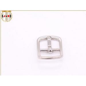 China Silver Zinc Alloy Pin Style Small Metal Strap Buckles For Ladies' High Heel Shoes on sale