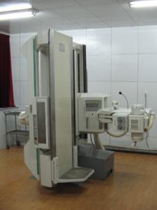 China High Frequency Digital Radiography Equipment 500ma For Medical X Ray on sale