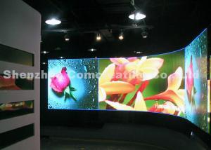 China Pantalla instalada flexible de la publicidad de la pantalla LED LED de las paredes video interiores inalámbricas a todo color de HD P5 con el peso ligero on sale